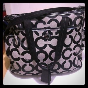 Authentic Coach Hobo style purse